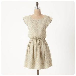 🌼{ anthropologie } meadow rue eyelet tunic dress
